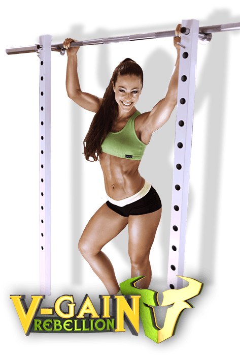 Trainerin V-Reena Gym Training body fit V-Gain Rebellion